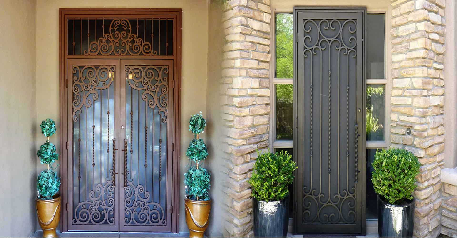 Over 70000 doors gates and screens installed & Screen Doors Tucson | Window Grills Tucson | Southwest Iron Works
