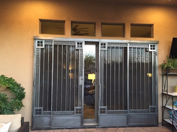 Custom Model #515 Sliding Security Screen Door