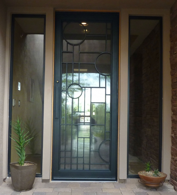 Custom Model Entry Door
