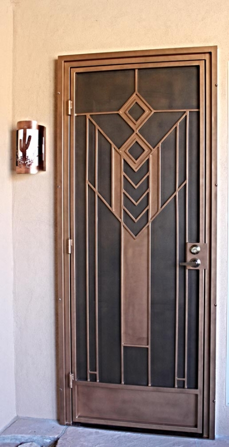 Custom Model Security Screen Door