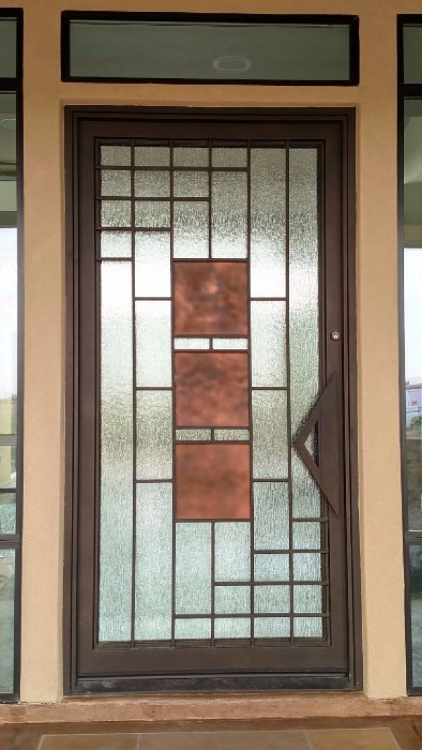 Custom Model Iron Entry Door