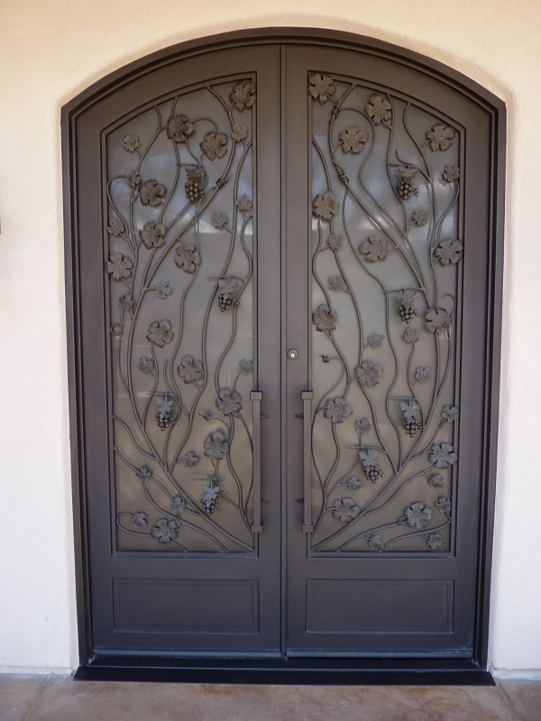 Custom Iron Entry Door